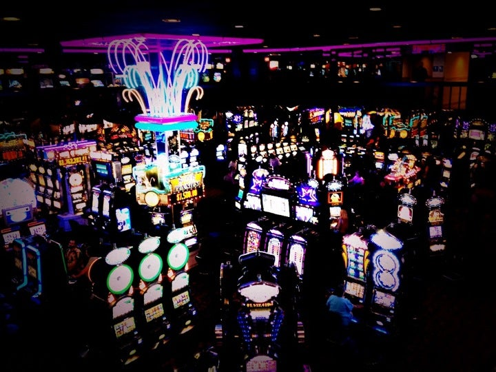 Cal casino club hotel neva virginian is playing the slot machines a sin