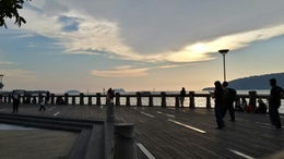 Kota Kinabalu City Waterfront Boardwalk