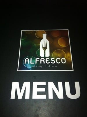 Alfresco Wine I Dine