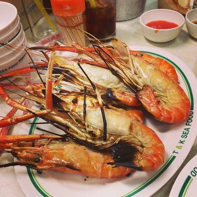 T & K Seafood (green)
