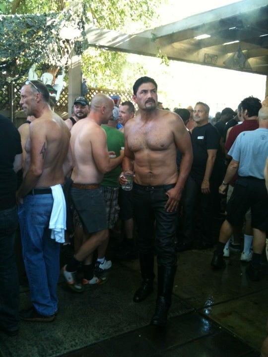 bath gay house palm springs