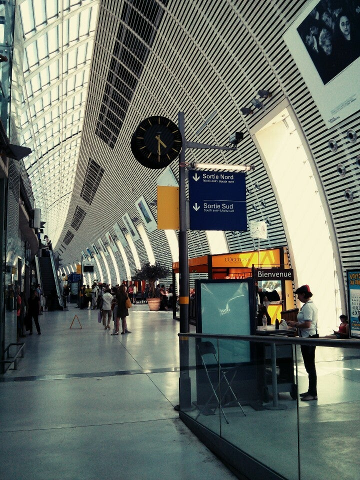Station van Avignon TGV