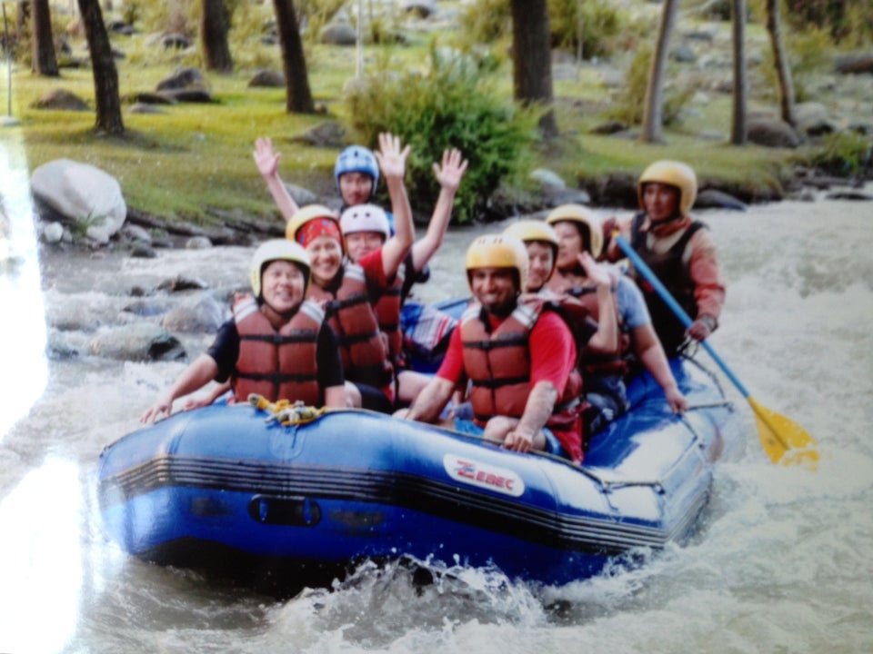 Rafting At Lidder River