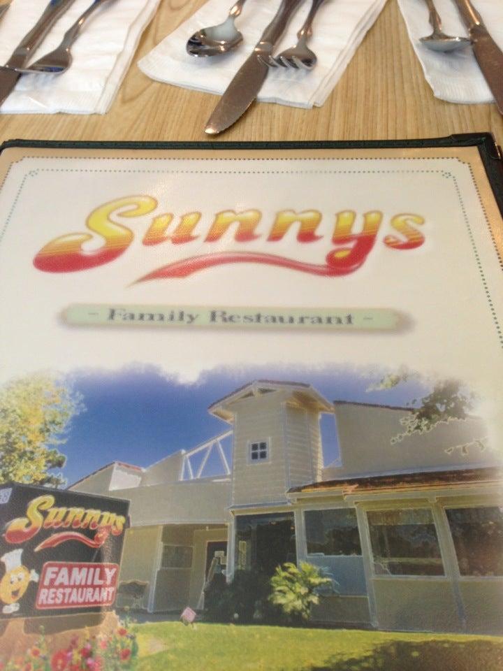 Sunny S Restaurant Menu
