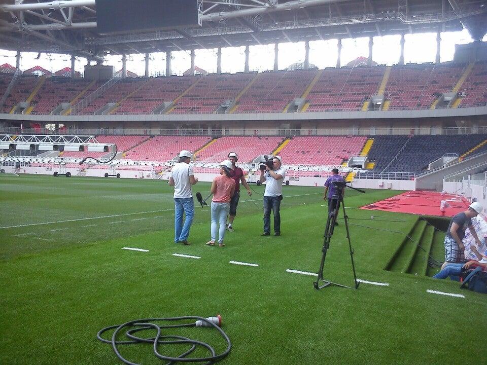 Большой фотоотчет со строительства спартаковского стадиона