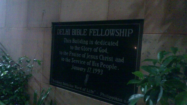 Delhi Bible Fellowship - Cdc