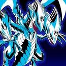 A Blue-eye white dragon