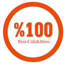 %100 Rest. Cafe & More.