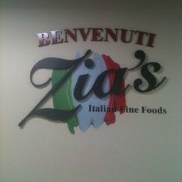 Zia's Italian Fine Foods www.zias.ca